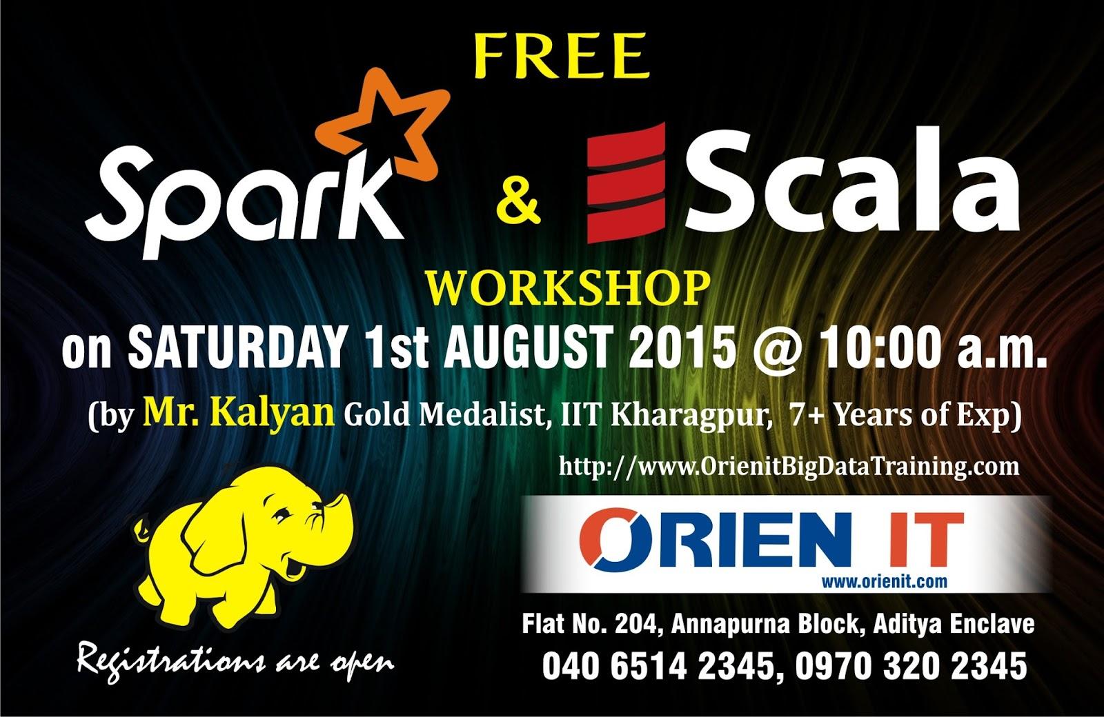 Spark Training in Hyderabad | Hadoop Training in Hyderabad